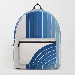Gradient Arch - Classic Blue Tones Backpack