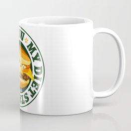 My diet starts tomorrow with Cheeseburger Coffee Mug