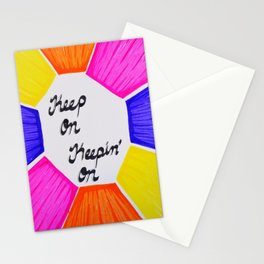 Keep On Stationery Cards