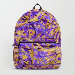 Purple and Gold Celebration Backpack