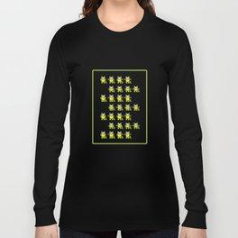 Catroid Pattern Long Sleeve T-shirt