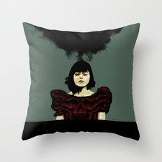 Pretty Dark Throw Pillow