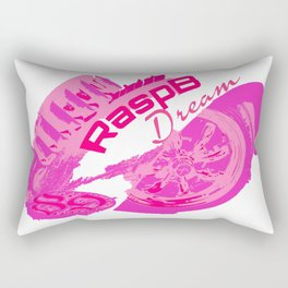 Rasp B Dream Cal Looker Rectangular Pillow
