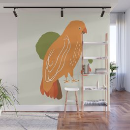 Quirky Australian King Parrot Wall Mural