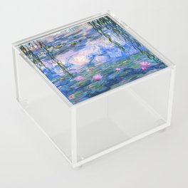 Water Lilies Monet Acrylic Box