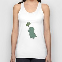 dad Tank Tops featuring Rory & Dad by Liz Climo
