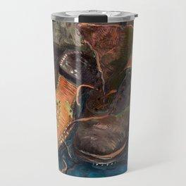 Vincent van Gogh - A Pair of Boots, 1887 Travel Mug