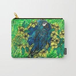 Macaw Ipê Flower Carry-All Pouch