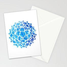 Sahasrara blue Stationery Cards