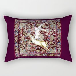 Winged Stag - Garden of Beasts Collection Rectangular Pillow