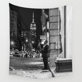 New York City Protes Wall Tapestry
