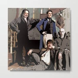 What We Do in the Shadows 4 Metal Print