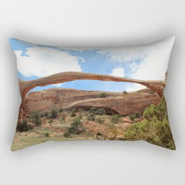 Landscape Arch Rectangular Pillow