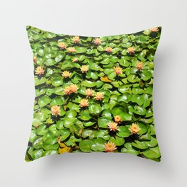 Lily Pile Throw Pillow