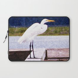 Egret Regret Laptop Sleeve