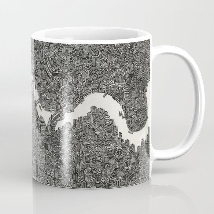 London map drawing ink pen Coffee Mug by desertdoodler   Society6