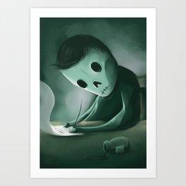 Unwritten Art Print