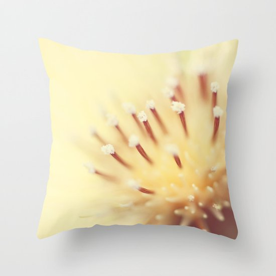 Thistle Go Pop Throw Pillow