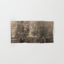 Gold Crinkled Paper Hand & Bath Towel