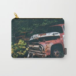 Vintage Trucks in the Woods Carry-All Pouch