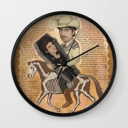 Bob Dylan - Find Out Something Only Dead Men Know Wall Clock