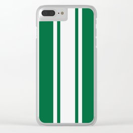 Green Racer Clear iPhone Case