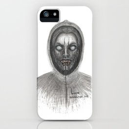 Lupo - from the Ghoul Closet iPhone Case