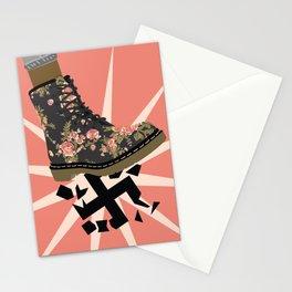 Smash Facism Stationery Cards
