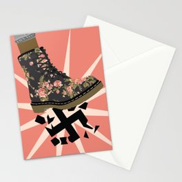Smash Facism Stationery Cards