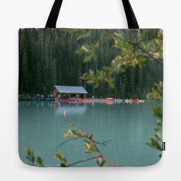 Lake Louise Lodge Tote Bag