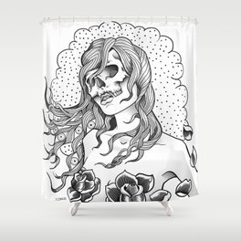 I Want Your Skull Shower Curtain