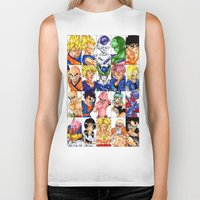 dragonball z Biker Tanks featuring -Z- by ★Sara☆S★