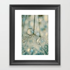 Fairy Blue II Framed Art Print