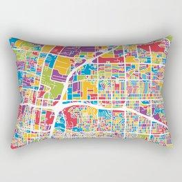 Albuquerque New Mexico City Street Map Rectangular Pillow