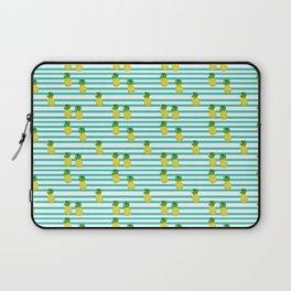Ananas tropical summer pattern Laptop Sleeve