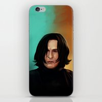 snape iPhone & iPod Skins featuring Severus Snape by Elsa D