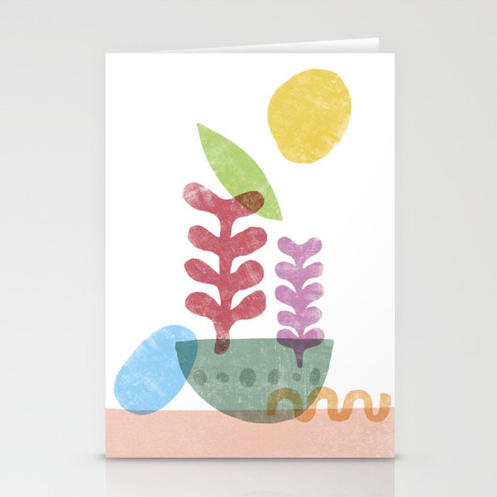 Still Life with Egg & Worm Stationery Cards