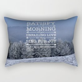 Winter Satisfaction Rectangular Pillow