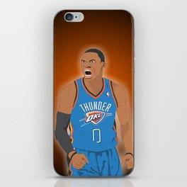 Oklahoma Thunder - Russell Westbrook iPhone Skin