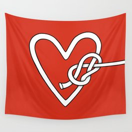 love me knot Wall Tapestry