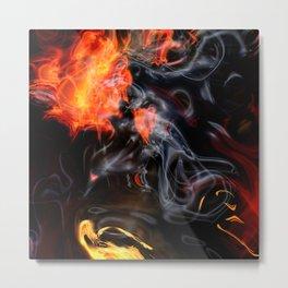 Smokin' Hot Metal Print