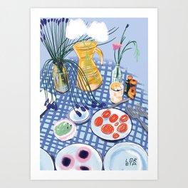 Still life 3 Art Print