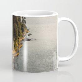 A Curvy Park - Vancouver, British Columbia, Canada Coffee Mug