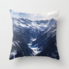 Zillertal - Penken Throw Pillow