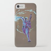 n7 iPhone & iPod Cases featuring Mass Effect 3- Vanguard Propaganda by Joe Byrne