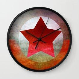 Star Composition V Wall Clock