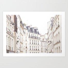 Slightly Paris Art Print