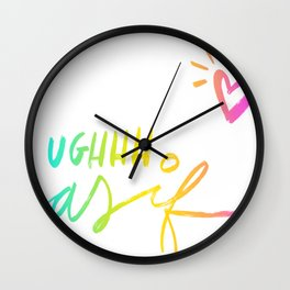 UGH, As If Wall Clock