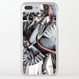 Pressure Drop Clear iPhone Case
