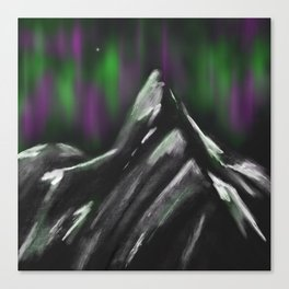 Stetind Canvas Print